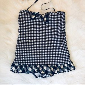 Juicy Couture Swim - Juicy Couture retro check one piece swimsuit